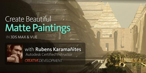 Creating-a-Matte-Painting-in-3ds-Max-with-Vue-xStream-with-Rubens-Karamanit_ts