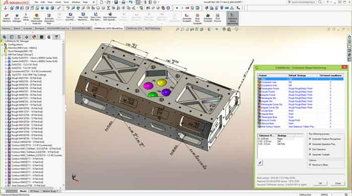 CAMWorks 2019 SP3.1 For SOLIDWORKS 2018-2019/Solid Edge ST9-ST10